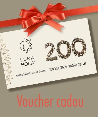 Voucher cadou - 200 lei
